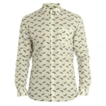 Paisley Print LS Shirt