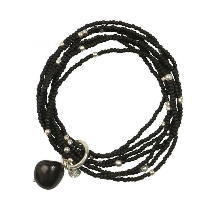 A BEAUTIFUL STORY Nirmala Black Onyx Bracelet