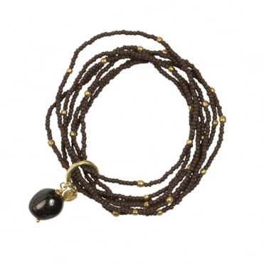 Nirmala Garnet Bracelet