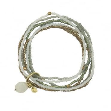 Nirmala Rainbow Moonstone Bracelet