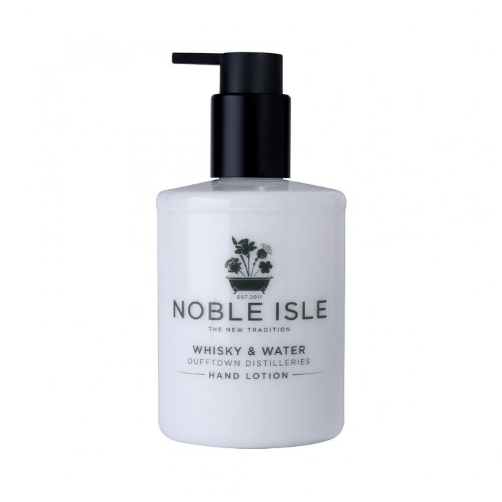 NOBLE ISLE Whisky & Water Hand Lotion 250ml