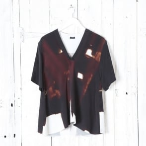 Nolan Abstract Silk Knit