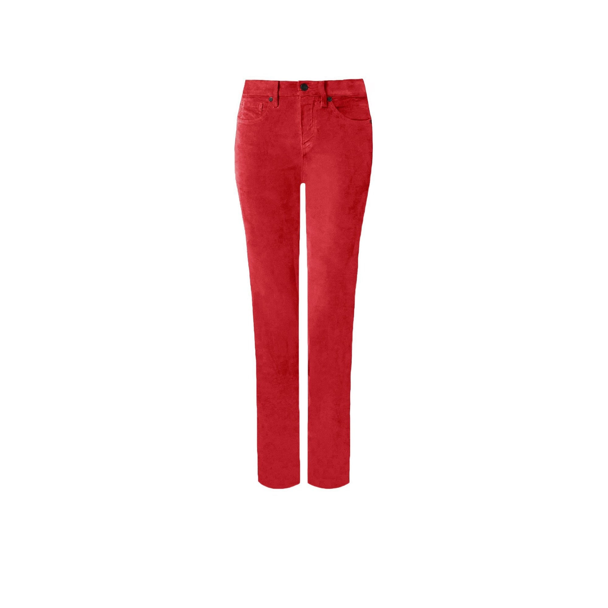 2f508859e02 NYDJ Velvet Sheri Slim Leg Jean In Gooseberry Red