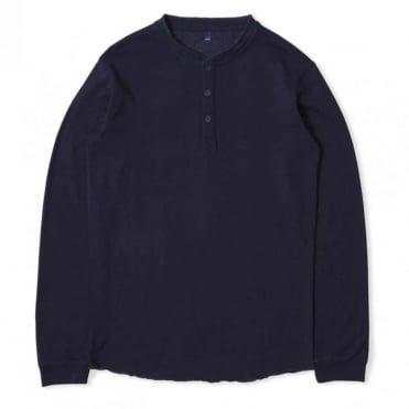 Oarsman Henley Long Sleeve T Shirt