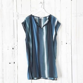 Ocean Stripe Easy Dress