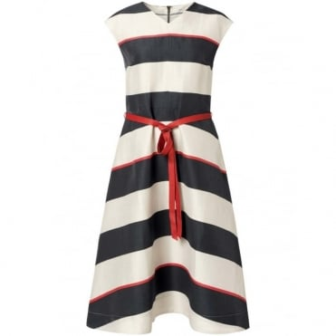 Danelle V Neck Tie Dress