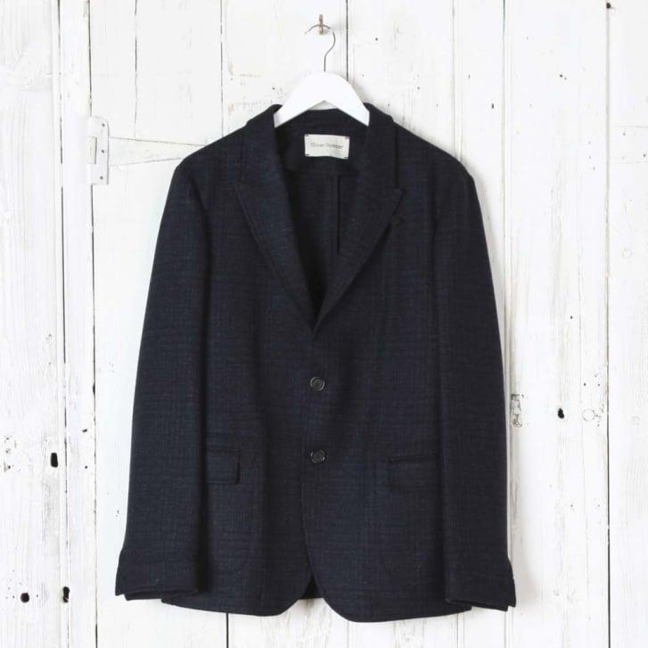 OLIVER SPENCER Brookes Jacket in Midnight