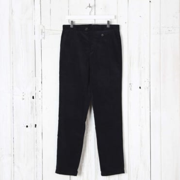 Fishtail Trouser in Navy