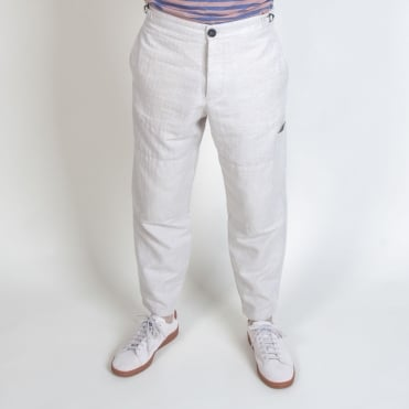 Judo Linen Trouser in Cream