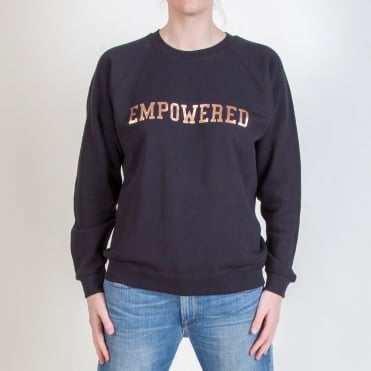 Empowered Sweat in Black/Rose Gold