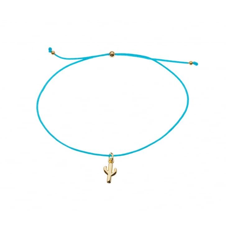 ORELIA Cactus Charm Friendship Bracelet