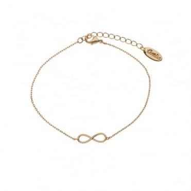Fine Infinity Chain Bracelet