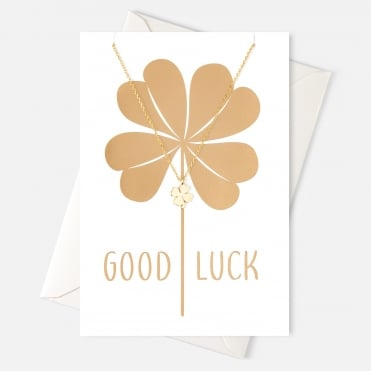 Good Luck Clover Gift Card