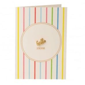 Hello Sunshine Pin Badge Gift Card