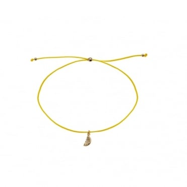 Lemon Charm Friendship Bracelet