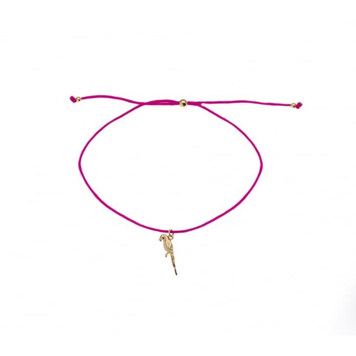 ORELIA Parrot Charm Friendship Bracelet