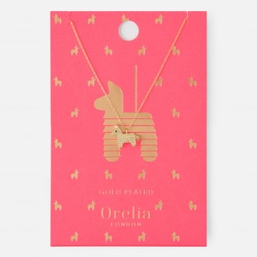 Pinata Necklace in Gold