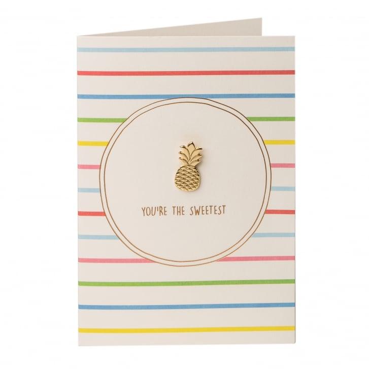 ORELIA Pineapple Pin Badge Gift Card