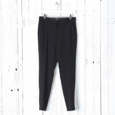 Classic Simple Trousers in Black