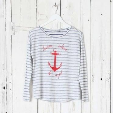 Anchor Stripe Tee