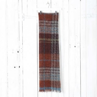 Blured Check Scarf