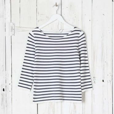 Long Sleeve Stripe Simple Tee