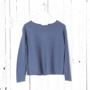 Textured Boxy Jumper