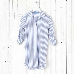 Oversized Long Cotton Shirt