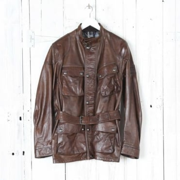 Panther Belted Jacket