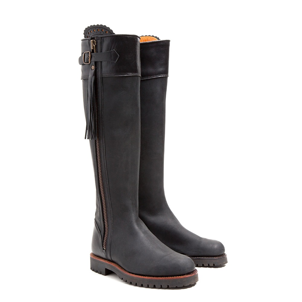 Penelope Chilvers Long Tassle Leather Boot Collen Amp Clare