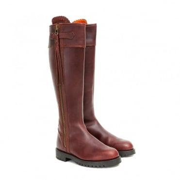Long Tassel Leather Boot