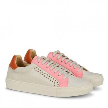 Paradise Studded Sneaker in Pink