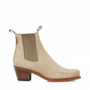 8fb9609b6f1 Salva Boot in Suede Camel · PENELOPE CHILVERS ...