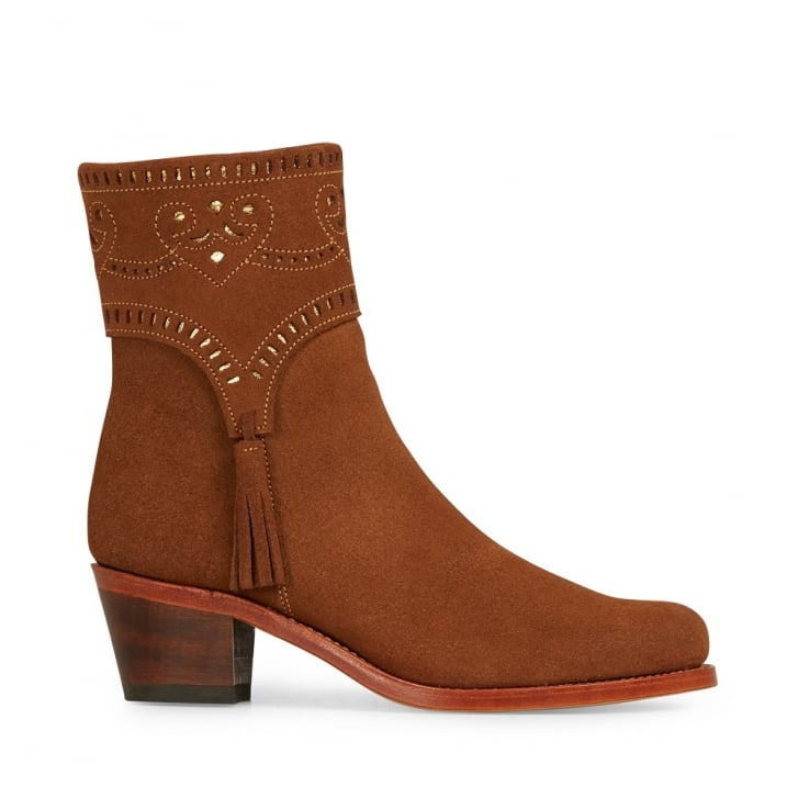 PENELOPE CHILVERS Victor Feria Boot in Chestnut