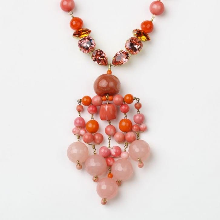 PHILIPPA KUNISCH Bling Chime Necklace in Orange 0717