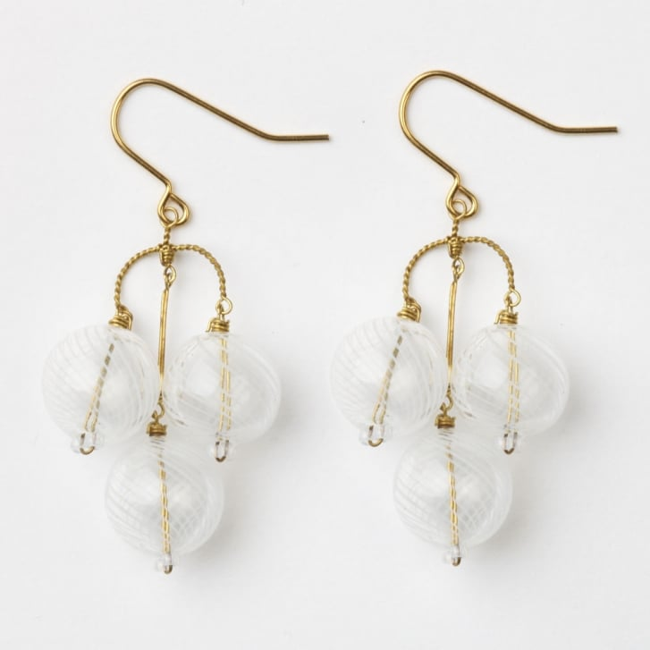 PHILIPPA KUNISCH Bubble Earrings in White 0717