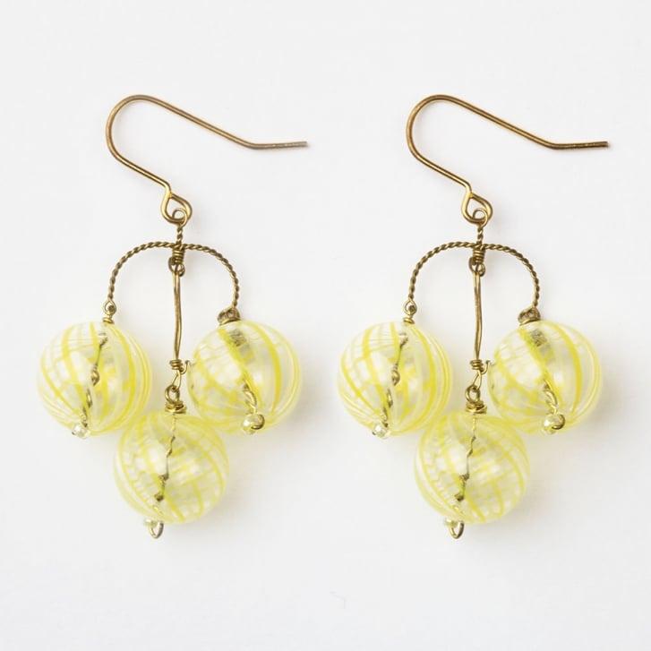 PHILIPPA KUNISCH Bubble Earrings in Yellow 0717