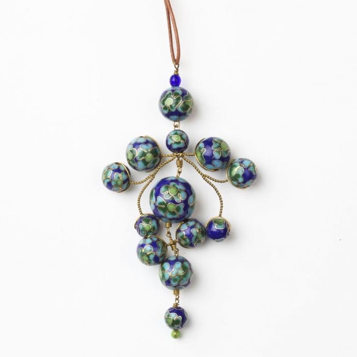 PHILIPPA KUNISCH Flower Gypsy Necklace in Blue 0717