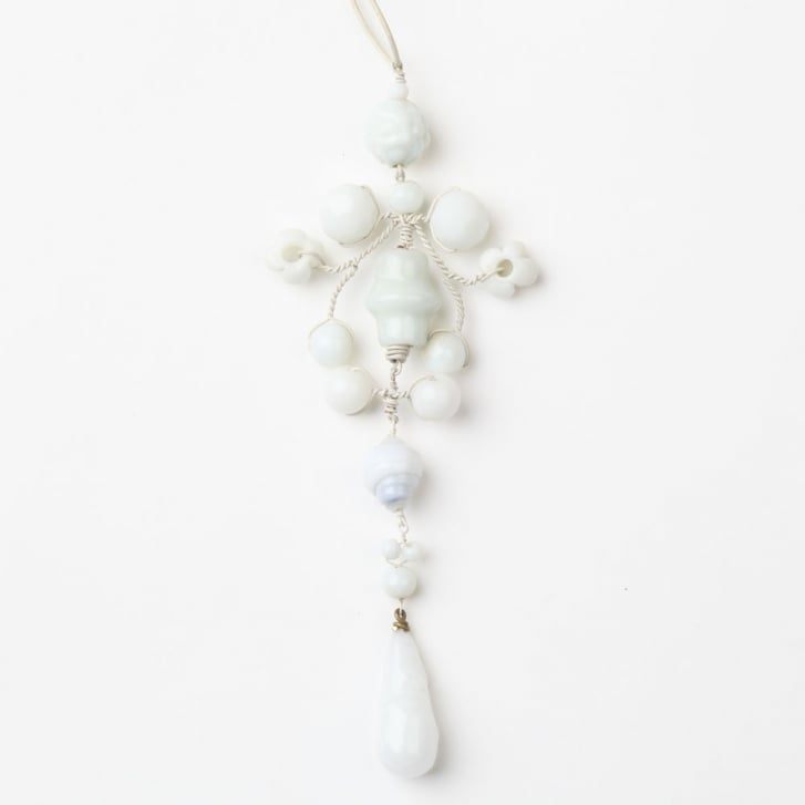 PHILIPPA KUNISCH Gypsy Necklace in White 0717