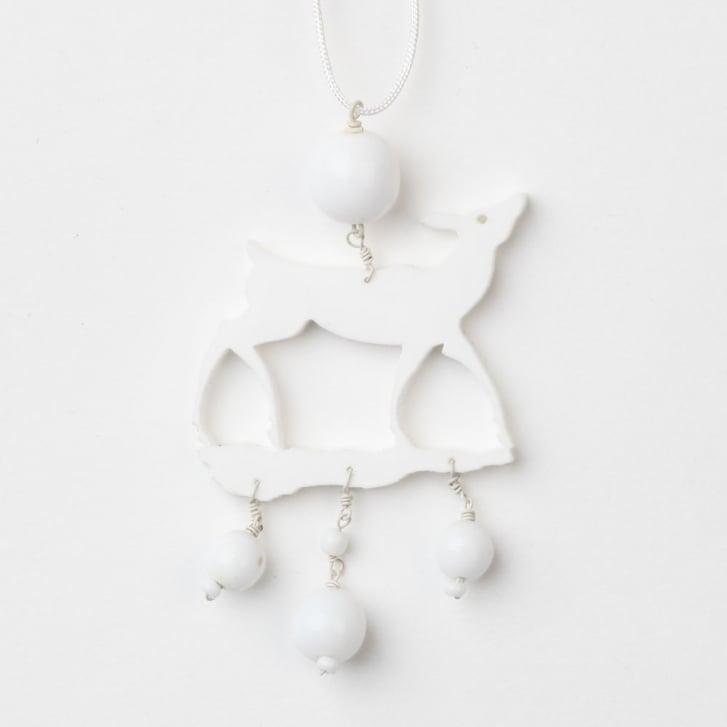 PHILIPPA KUNISCH Little Bambi Necklace in White 0717