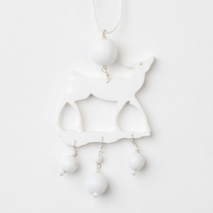 PHILIPPA KUNISCH Little Bambi Necklace in White 0717