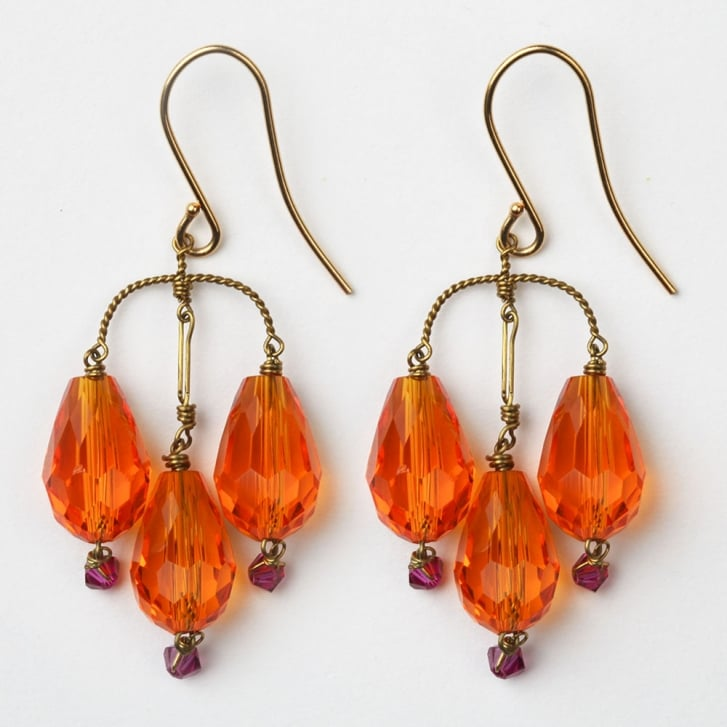 PHILIPPA KUNISCH S Bell Earrings in Orange /0717