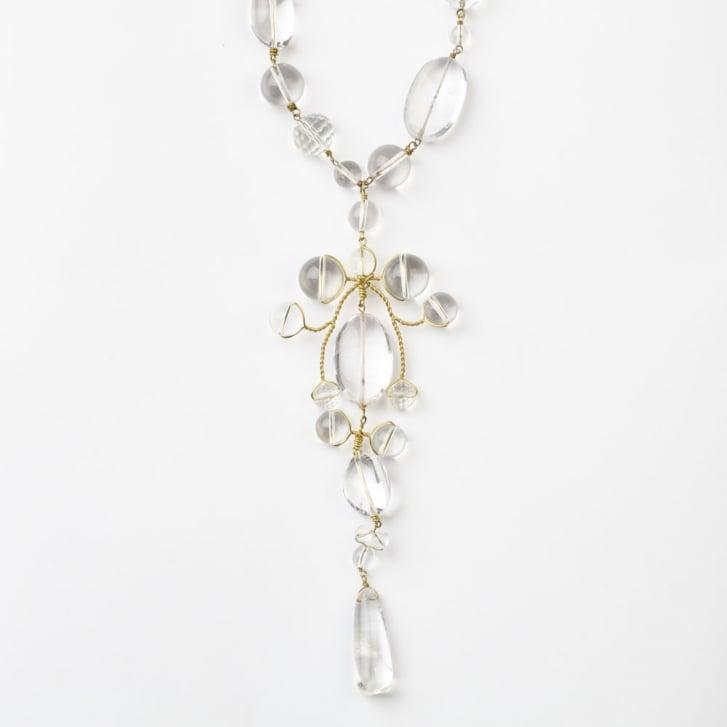 PHILIPPA KUNISCH Sitwell Necklace in Clear 0717