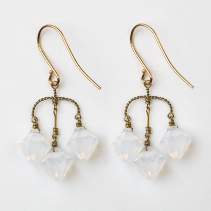 PHILIPPA KUNISCH Small  Diamond Earrings in Opaque 0717