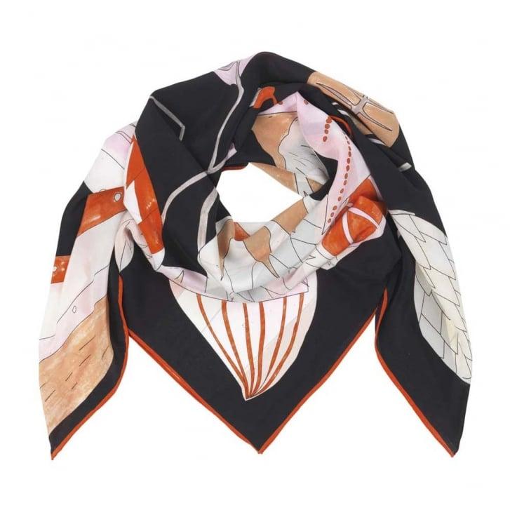 BECKSONDERGAARD Piaf Silk Scarf