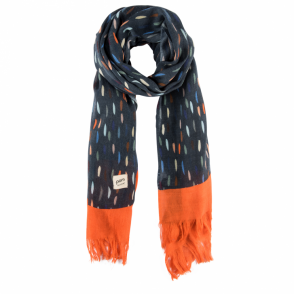 Colourdrops Blue Scarf