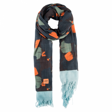 Paintbrush Dark Scarf