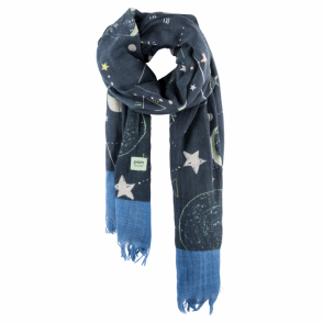 Starways Blue Scarf
