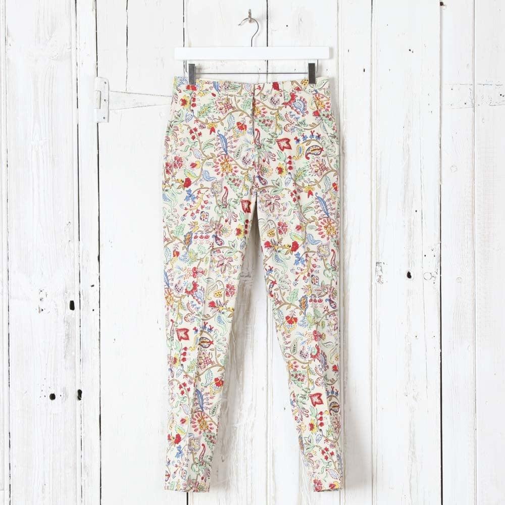 3d0e950836c7 Nice Things Printed Capri Pants