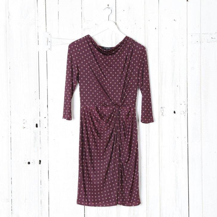 ILSE JACOBSEN Printed Gathered Dress